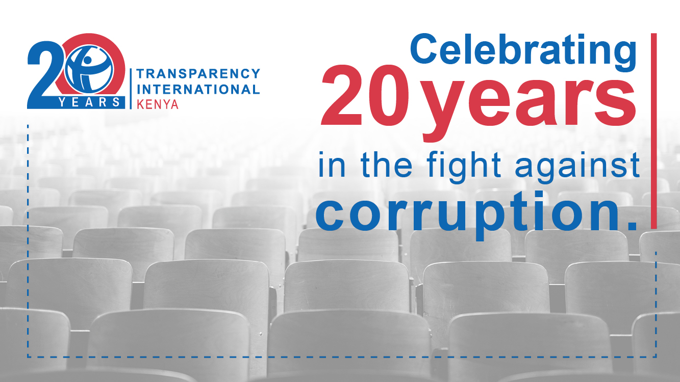 TI-Kenya Marks 20 Years in the Fight Against Corruption